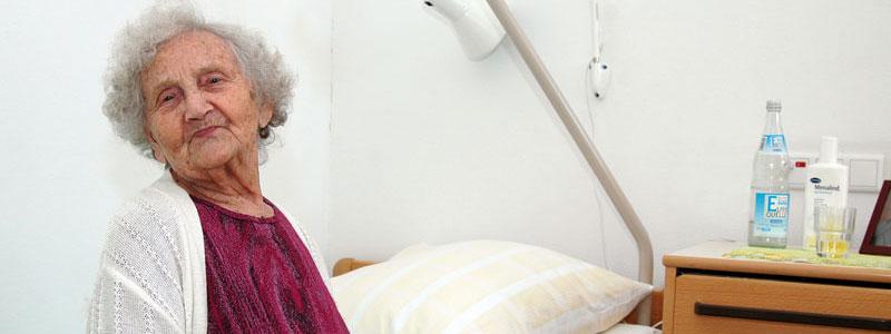 Gesichter im Pflegeheim 1