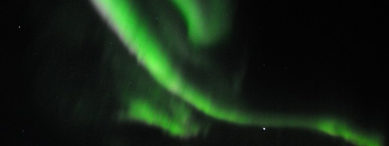 Polar lights, Greenland, 05.09.11